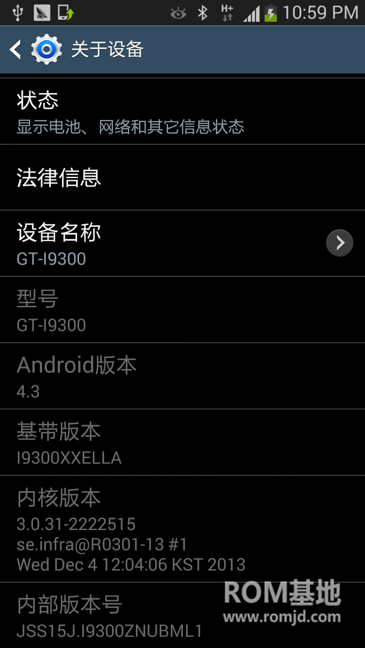 最新国行GT-I9300刷机包_CHN_4.3_ZNUBML1未删减完整版ROM刷机包截图