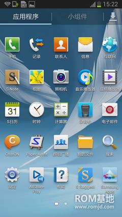 三星 N7100 (Note2)基于国行固件精简制作而成,顺滑!省电!ROM刷机包下载