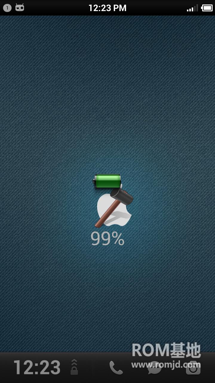 首发三星 Note2 N7100锤子ROM 绿色军团 美化牛仔系列