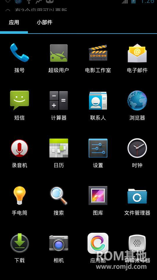 三星GALAXY SIII I9300 Cyanogen团队ROM Android4.2.2 流畅稳ROM刷机包截图