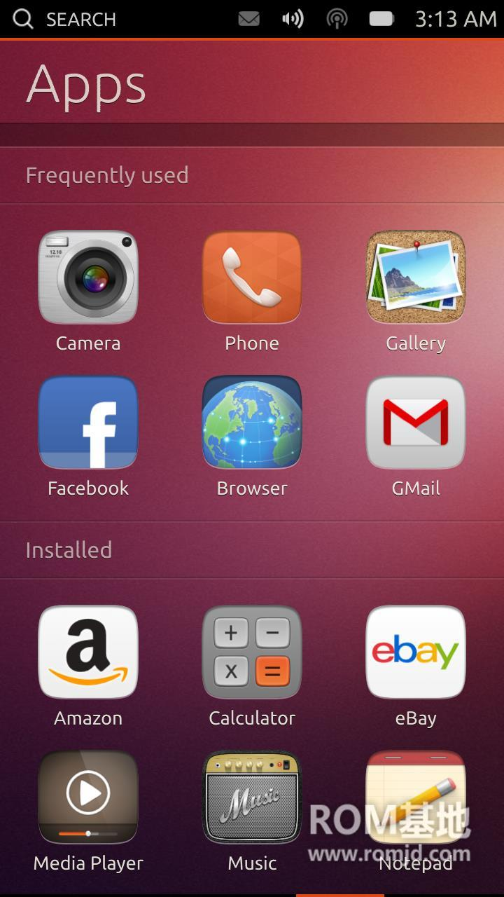 三星 i9300  移植Ubuntu Phone OS 各功能正常 体验版卡刷ROM