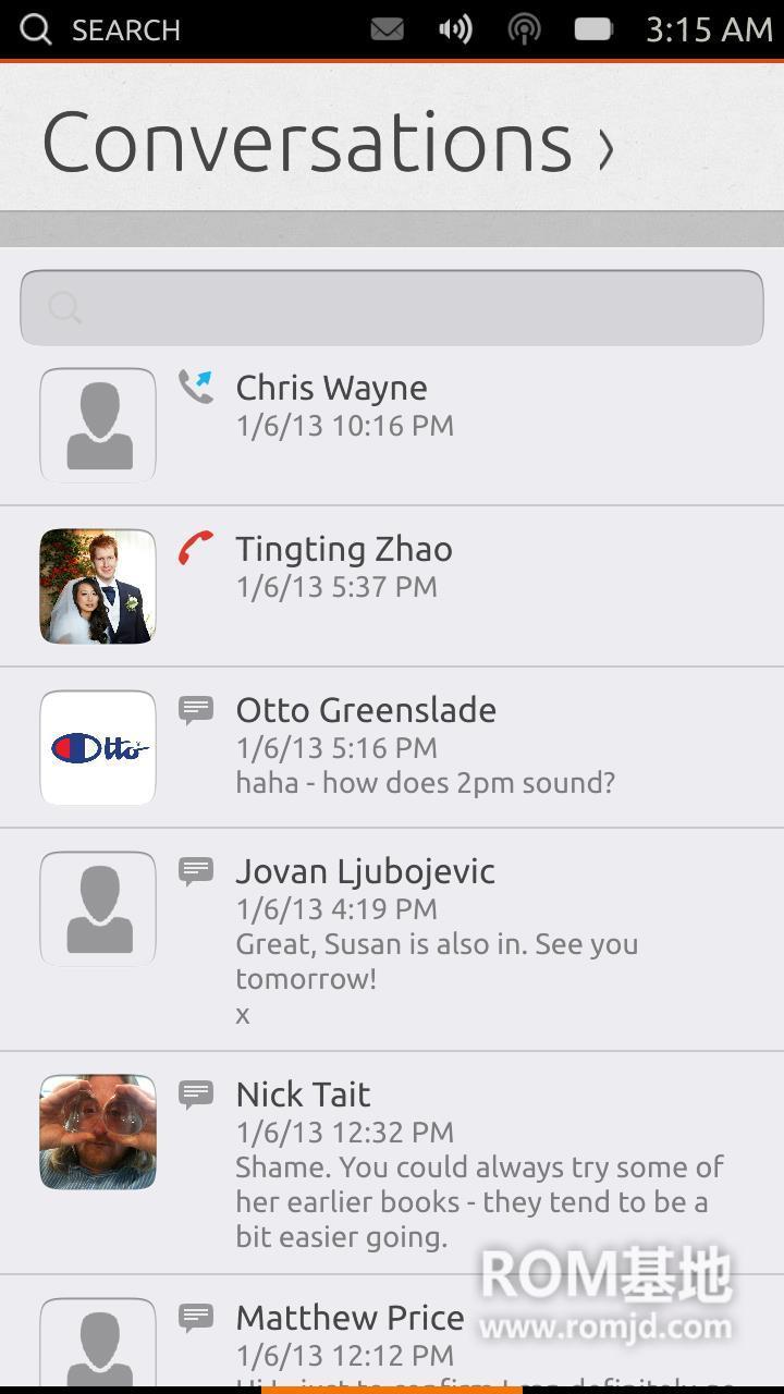 三星 i9300  移植Ubuntu Phone OS 各功能正常 体验版卡刷ROMROM刷机包截图