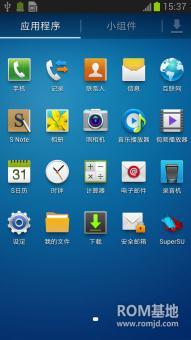 三星 N7108 (移动版Note2)刷机包 基于官方4.1.2提取制作 纯净版ROM刷机包截图