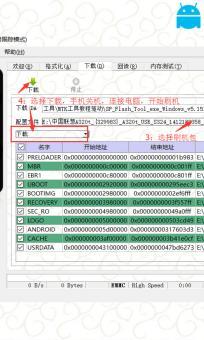联想S938T线刷专用刷机救砖固件包,内带平台+驱动+教程!解决手机黑屏/黑砖/定屏等已测截图